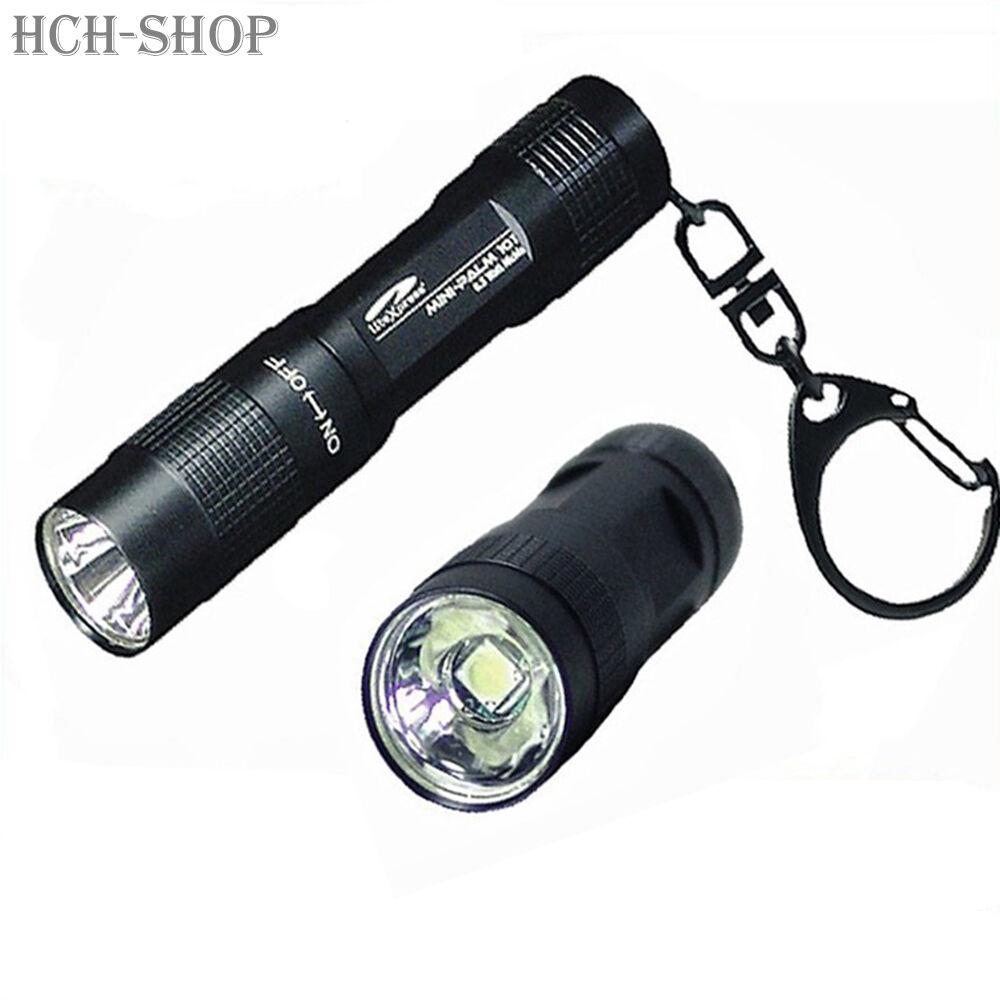 LiteXpress LED Taschenlampe Workx 207 mit SoS Blinklicht Hochleistungs-LED Lampe