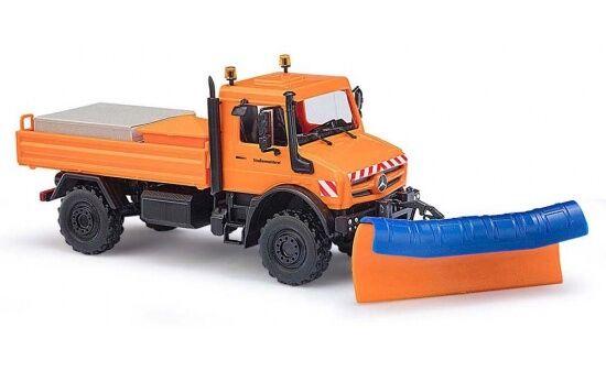 51016 - Busch MB Unimog u 5023 + + + pala para nieve - 1 87 3ce251