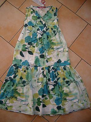 (217) Nolita Pocket Girls Vestito Abito Estivo A-forma Con Glitter Logo Stampato Gr.116-
