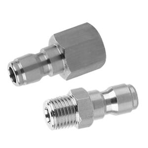 2-x-Quick-Coupler-1-4-039-039-Male-Set-Garden-Hose-Quick-Connector-Pressure-Washer