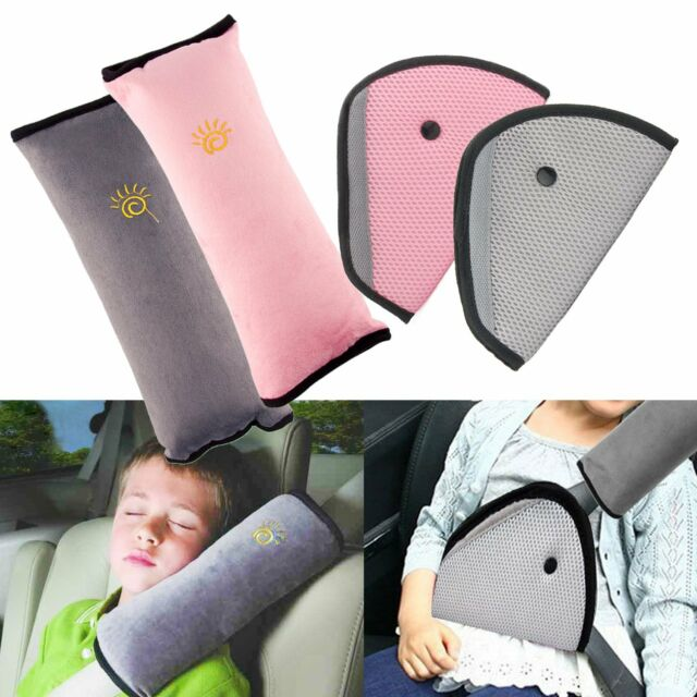 1Pc Kids Safety Car Seat Belts Pillow Protect Shoulder Head Protection Giraffe