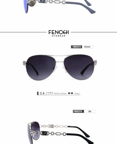 FENCHI Sunglasses Women Classic Vintage Sunglasses UV400 High Quality Brand