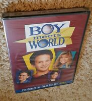 Boy Meets World: The Complete First Season (dvd) 1 1st Classic 90s Tv Show
