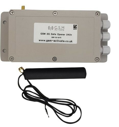 UK MANUFACTURED GSM GATE OPENER 240V