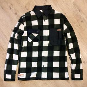 NEW-ThirtyTwo-Reststop-Polar-Fleece-Shirt-2018-2019-Various-Colours-amp-Sizes