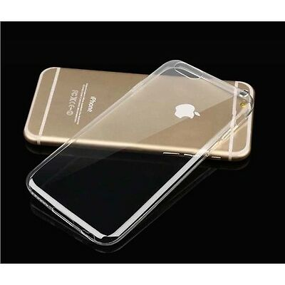 For iPhone 6 6S 7 Plus Soft Silicone TPU Ultra Thin Clear Transparent Cover Case