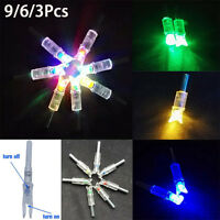 Lot Automatically Bowstring Activated Lighted Led Arrow Nocks For Crossbow Arrow