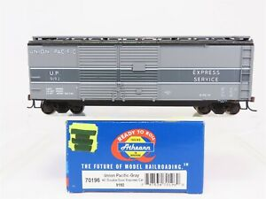 HO-Scale-Athearn-70196-UP-Union-Pacific-40-039-Double-Door-Express-Box-Car-9192