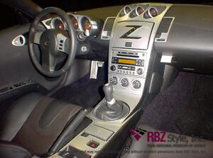 2003 03 2004 04 2005 interior set carbon alumi dash trim - Nissan altima 2003 interior parts ...