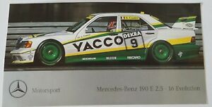 Motorsport-Aufkleber AMG Mercedes-benz 190 E 2.5 16 Evo DTM A.Cudini DTM
