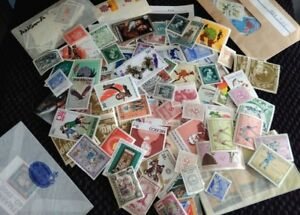 Assortment-of-150-MINT-Worldwide-Foreign-Stamps-Collection-Lot