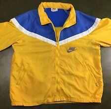 RaRe True Vintage 70s Nike Sportswear Yellow Windbreaker Jacket Coat XL