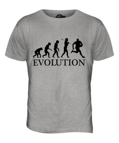 AUSSIE RULES EVOLUTION OF MAN MENS T-SHIRT TEE TOP GIFT CLOTHING
