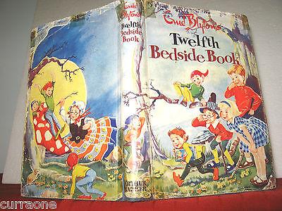 Enid Blyton's TWELFTH BEDSIDE BOOK 1960 1st Ed. HCDJ Dorothy Hall & R Paul-Höye