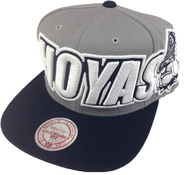 46d0c38232e Mitchell   Ness Georgetown Hoyas Vintage Logo Adjustable Snapback Hat Cap