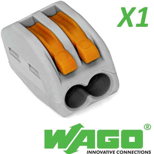 Wago 222-412 leva a molla Connettori per Cavi Riutilizzabile 2 Blocco Morsetto a leva 32a
