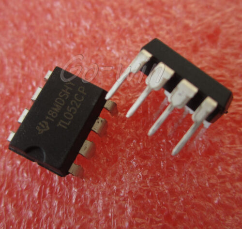 30PCS IC TL052C DIP-8 TI ENHANCED-JFET LOW-OFFSET OPERATIONAL AMPLIFIERS NEW