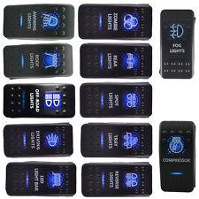 12V 20A Bar ARB 5P Push Rocker Toggle Switch Blue LED Light Waterproof Car Sales