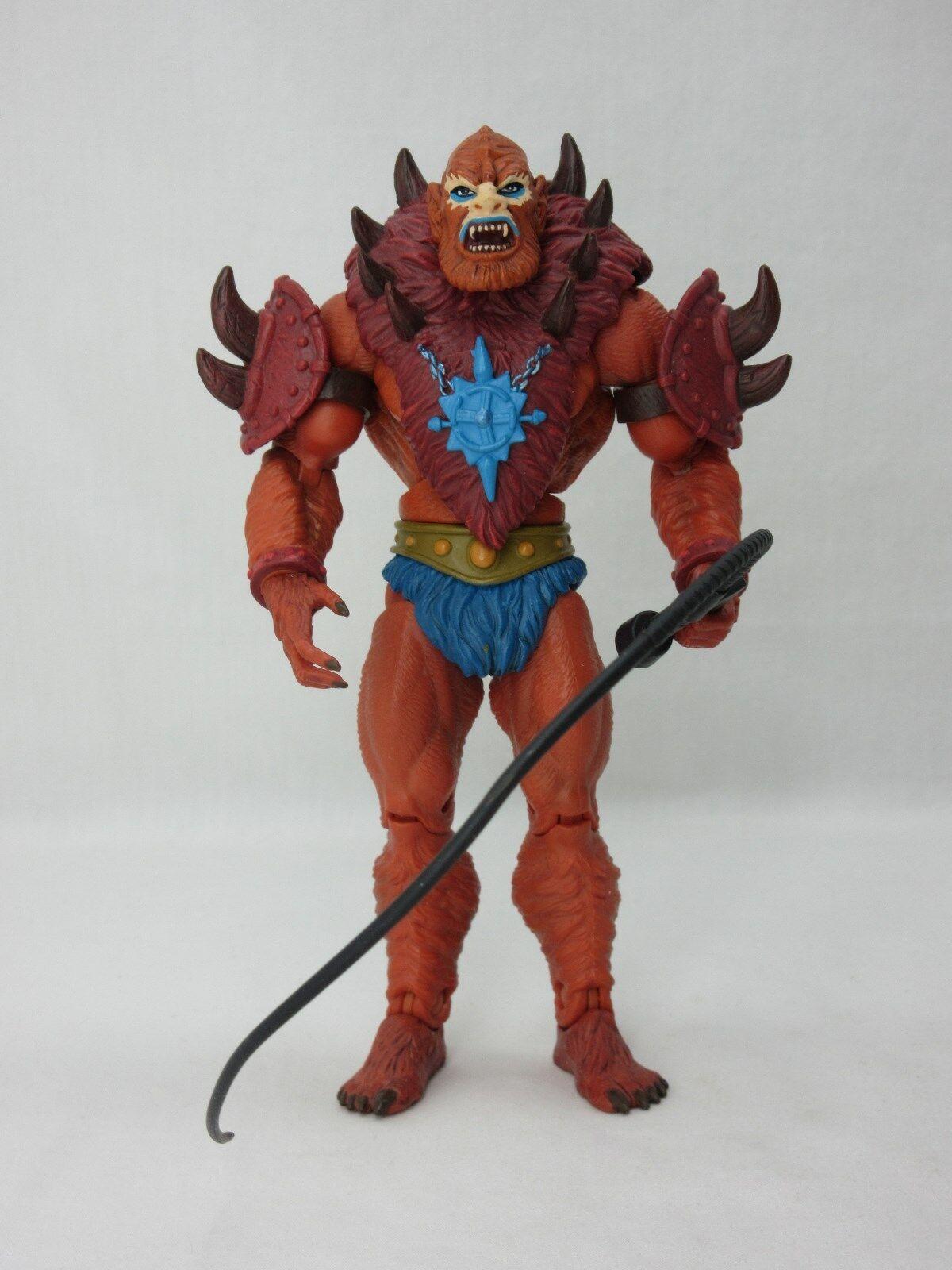 MOTUC,MOTU,BEAST MAN,Masters Of The Universe Classics,100% Complete,He man