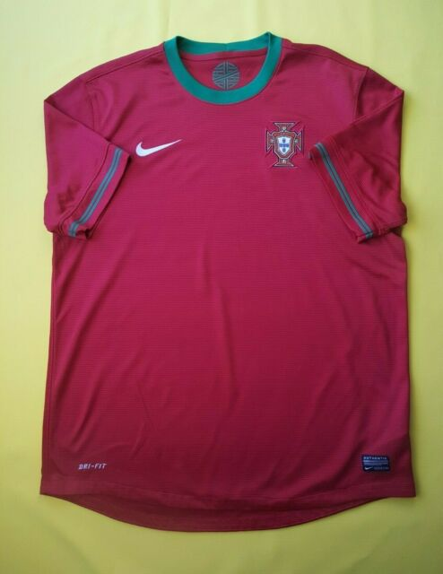 design de qualité d6dca 57677 Nike Portugal Soccer Football 2012 Replica Jersey 447883-638 Med