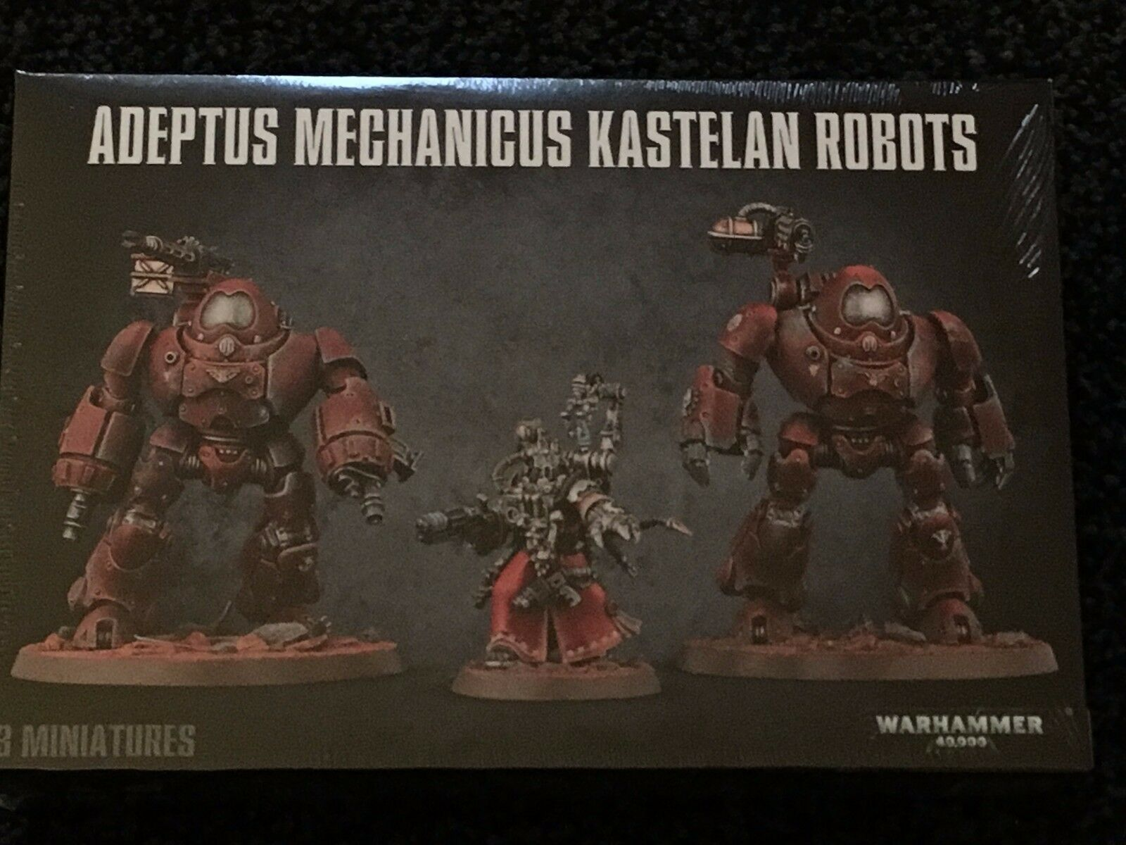 Games workshop adeptus mechanicus warhammer 40.000 kastelan roboter treten bnip
