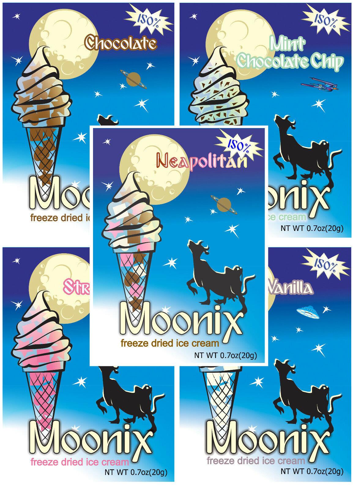 150% moonix liofilizado Ice Cream 25ct