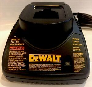 NEW-DEWALT-DW9226-7-2V-18V-1-Hour-NiCd-Battery-Charger-For-DC9096-DC9098-DC9099