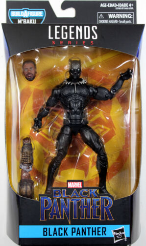 Marvel Legends ~ BLACK PANTHER ACTION FIGURE ~ Black Panther Series 2 M/'Baku