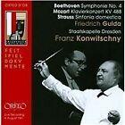 Beethoven: Symphonie No. 4; Mozart: Klavierkonzert KV 488; Strauss: Sinfonia domestica (2011)