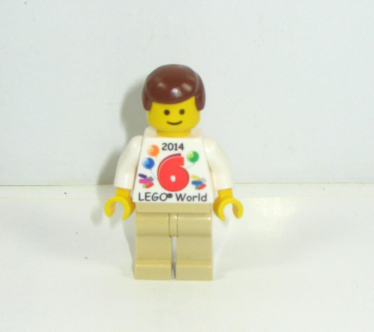 LEGO PROMO Exclusive Denmark personaggio con pneumotorace LEGO World 2014  02  k30