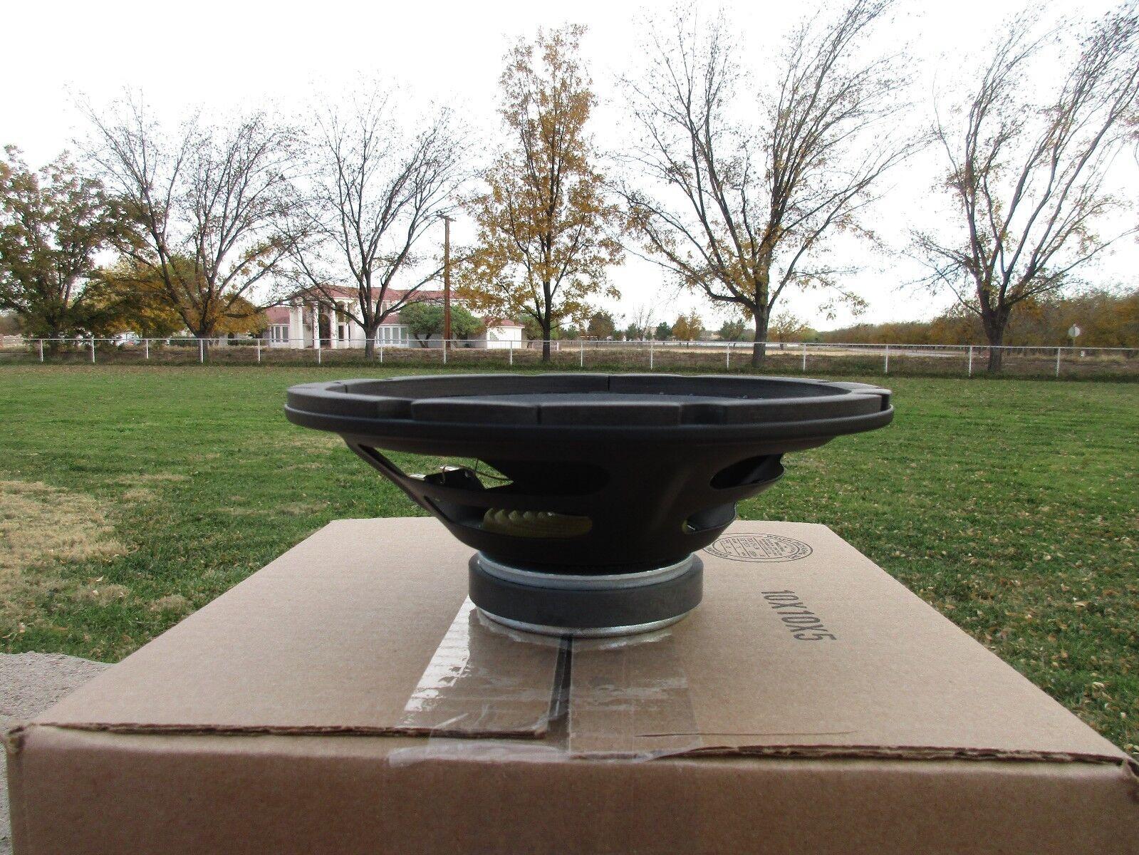 Weber 8 8 8 de cerámica firma Altavoz 15 W 4 Ohms Cono Liso 57b45d