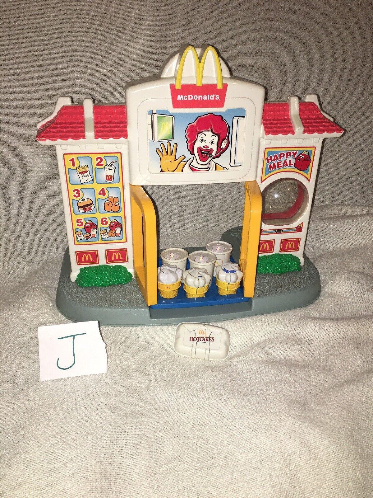 1999 Playskool McDonalds Drive Thru Playset W  1990 McDonald's Transformers