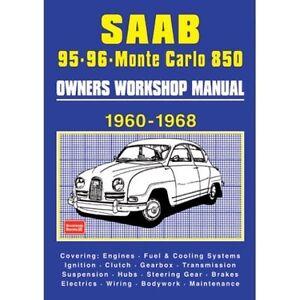 saab 95 96 sport and monte carlo 850 owners workshop manual 1960 rh ebay ie 1996 Monte Carlo Specs 97 Monte Carlo