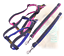 Harness-Leash-Collar-Jean-Style-Comfy-Dog-Pet-Puppy-Lead-Control-Heavy-Duty thumbnail 6