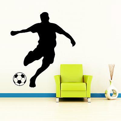 Wandtattoo Fußballer Fußball Spieler Fußballspieler Kinderzimmer Sticker 10390