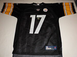 a7f16d15b70 Image is loading REEBOK-NFL-PITTSBURGH-STEELERS-MIKE-WALLACE-JERSEY-BLACK-