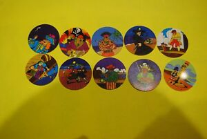 063 pogs pog caps milkcaps flippo : lot de 10 skippies