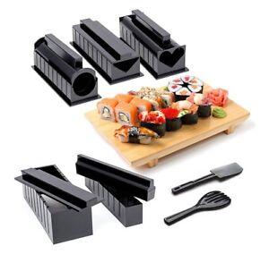 Kit 10 stampi per sushi giapponese formine stampo da cucina x ...