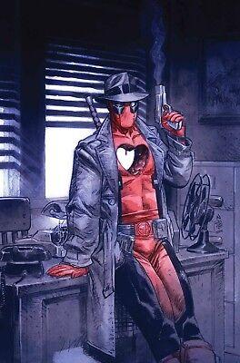 FREE UK P+P BAGGED /& BOARDED DEADPOOL #14 BROOKS SPIDER-MAN VARIANT MARVEL