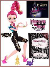 Monster High GIGI GRANT 13 Wishes Doll Genie Daughter SULTAN STING Pet Scorpion