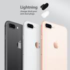 3 x Black Anti Dust Plug charger dock port for lightning For iphone 8 plus