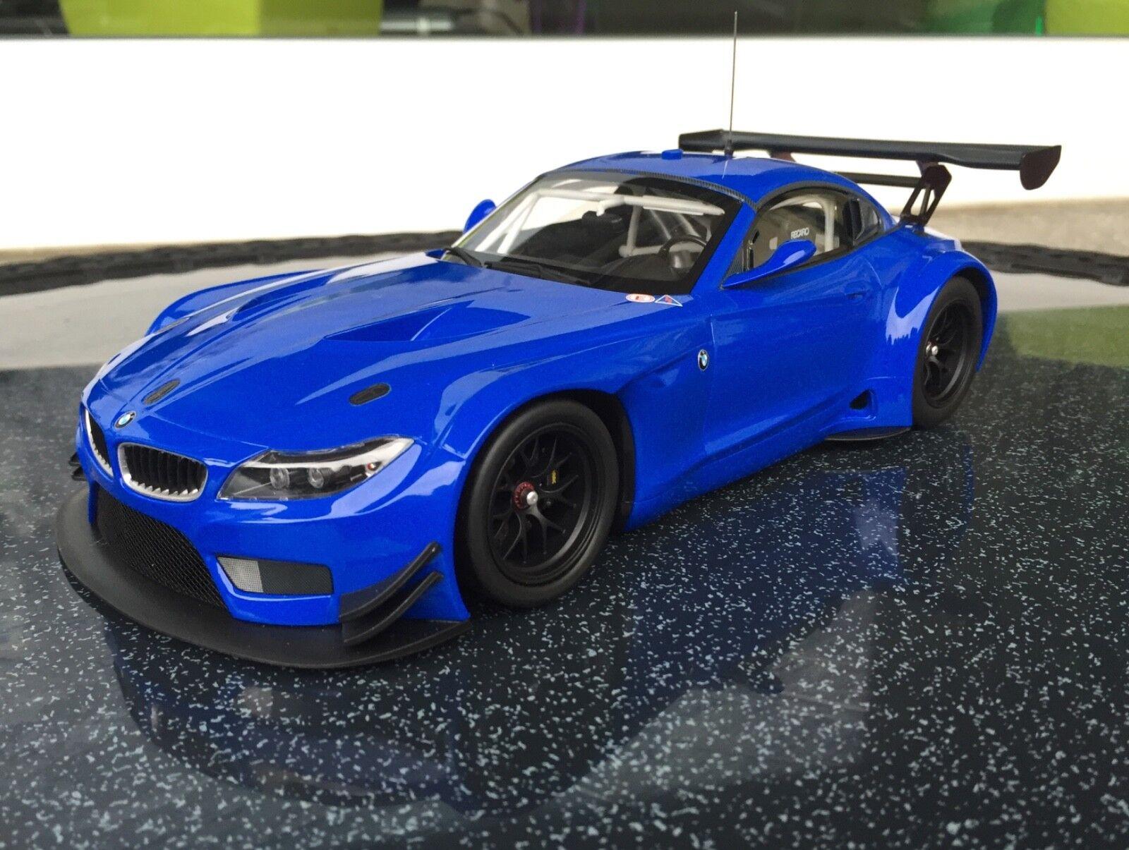 BMW z4 gt3 Limited Edition azul 1 18 Minichamps