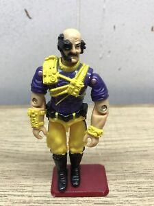GI-JOE-COBRA-vintage-1993-Battle-Corps-Dr-vas-figurine-jaune