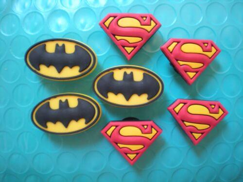 Jibbitz Clog Shoe Charm Accessories Decoration Fit Bracelet  7 Super Heros