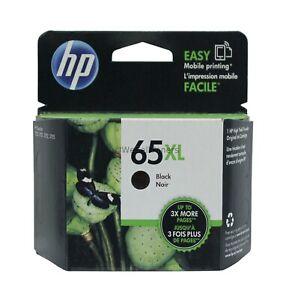 HP 65XL Black Ink Cartridge N9K04AN Genuine New Sealed Box