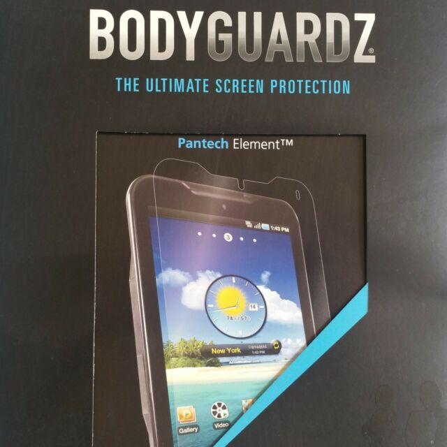 BodyGuardz ScreenGuardz HD Anti-Glare Screen Protector for Pantech Element Clear