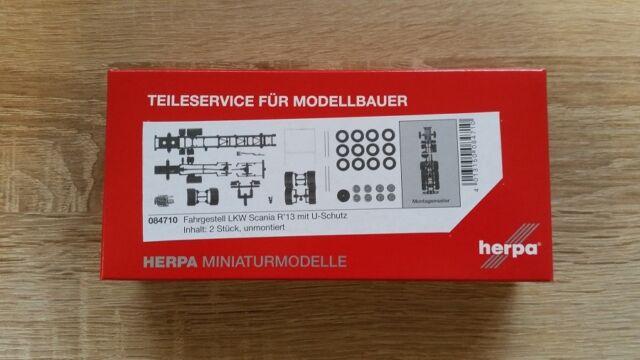 Herpa 084451  LKW-Fahrgestell Volvo FH 3-achs 7,45m Neu 1 Stück