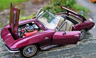Corvette Stingray Chevy Built Model Car Promo zr1 z06 57 1955 55 1957 18 24 12
