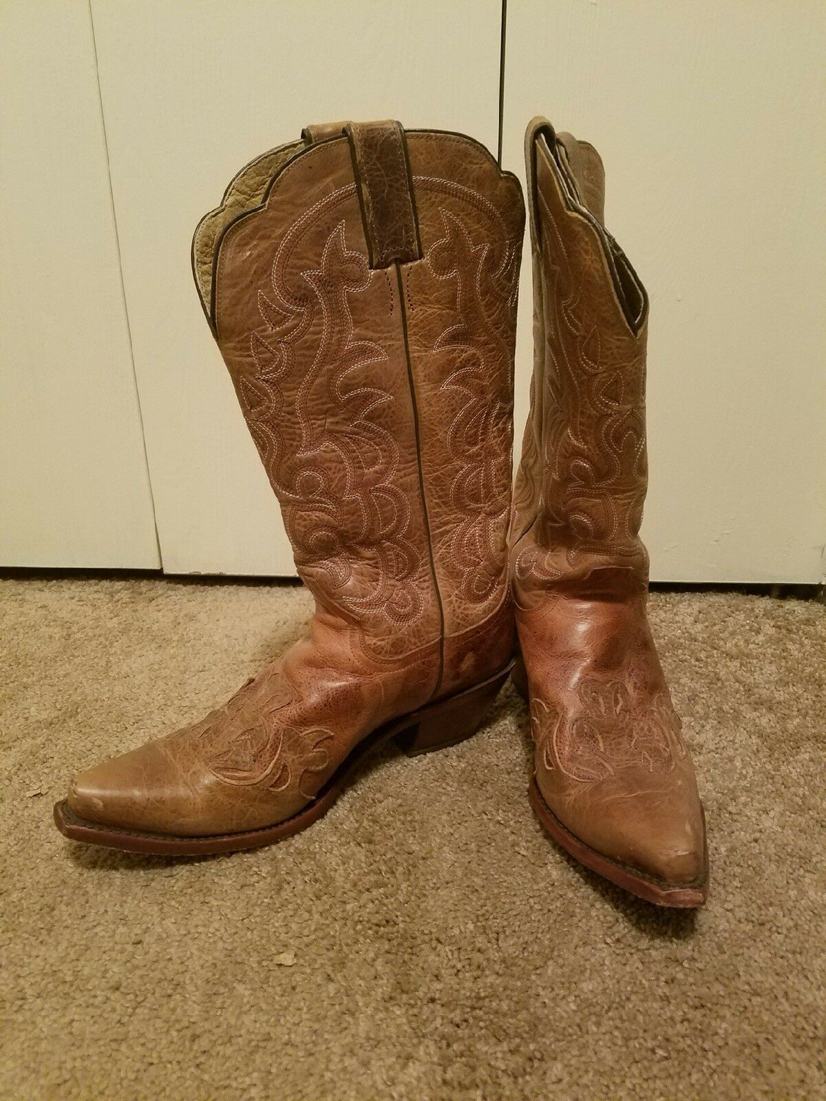 Womens Justin boots boots boots size 10. Only worn three times. a753fd
