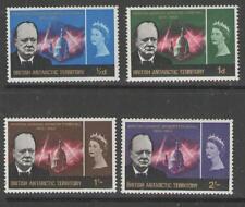 Terr. Antártico Británico SG16/9 1966 Churchill MTD Menta